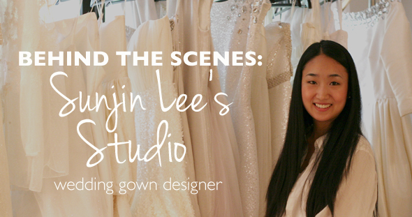Behind the Scenes: Sunjin Lee Wedding Dress Designer