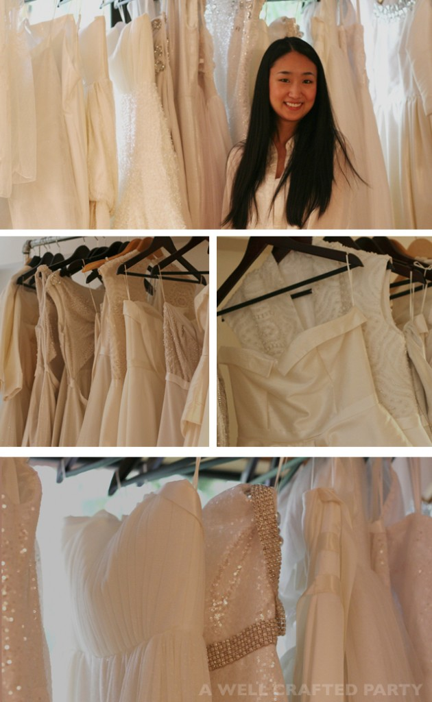 Behind the Scenes of Sunjin Lee's wedding gown studio featured on A Well Crafted Party