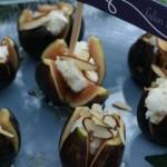Goat Cheese Stuffed Figs
