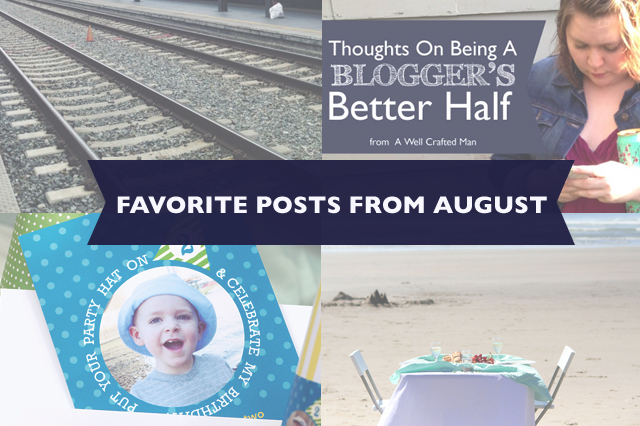 Favorite Posts from August