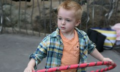 bright colored toddler style