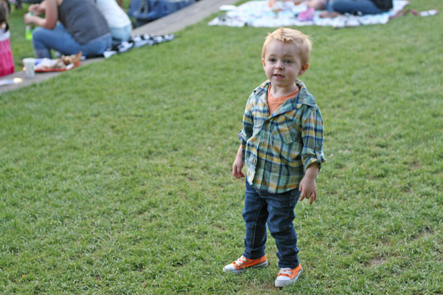 Toddler Style: Bright Colors for Fall