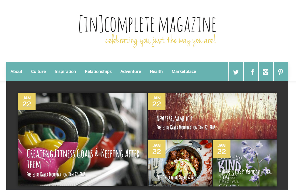 Introducing [IN]Complete Magazine