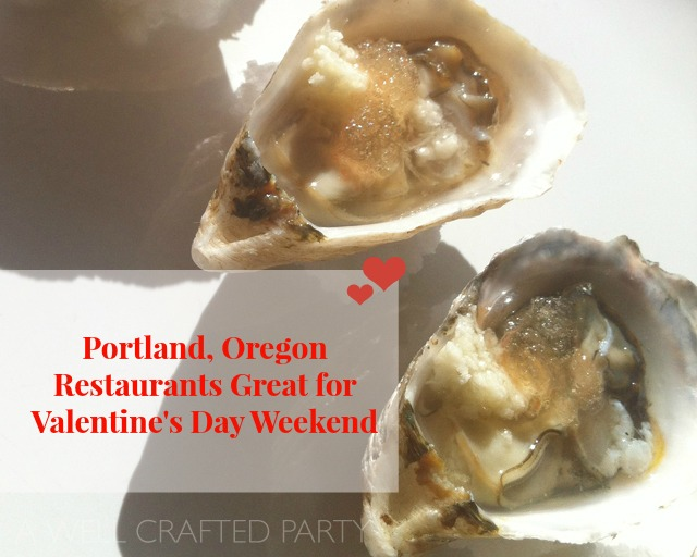 valentines day in Portland, Oregon
