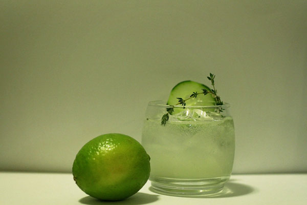 Naturally Green Gin Cocktail featured on InComplete Magazine