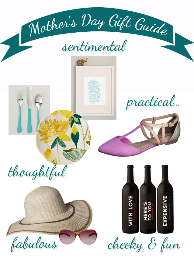 Super Last Minute, (Fairly Inexpensive) Mother's Day Gift Ideas