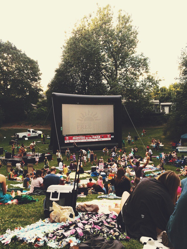 Movies in the Park in Portland, OR // Review from A Well Crafted Party
