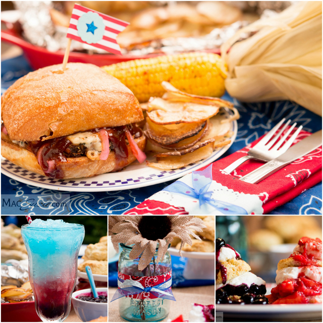 Guest Post: 4th of July Menu & Table Decor from MacSuzie.Com
