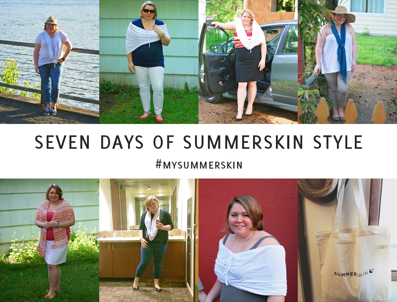 Curvy Girl Style: Sun Safe Fashion with Summer Skin Pt. 1