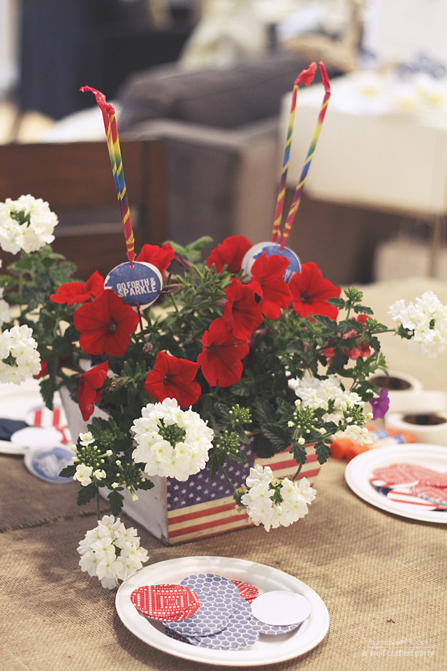 4th of July Party Favors & Free Printables