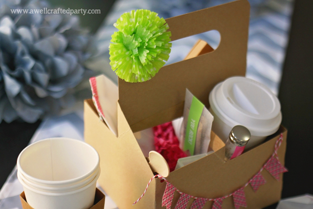 Friend Gift DIY for a Coffee or Tea Lover featured on A Well Crafted Party