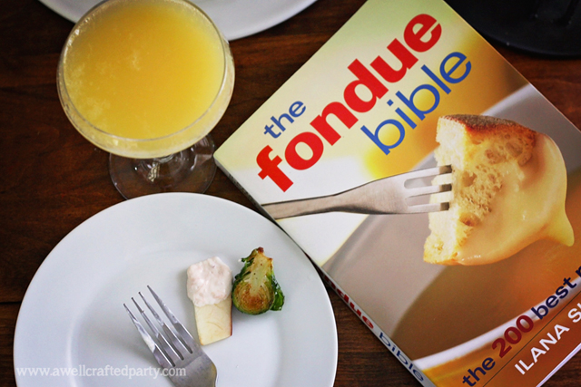 Smoked Salmon & Cream Cheese Fondue from The Fondue Bible // A Well Crafted Party
