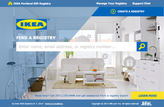 Ikea Portland Has a Registry!!!