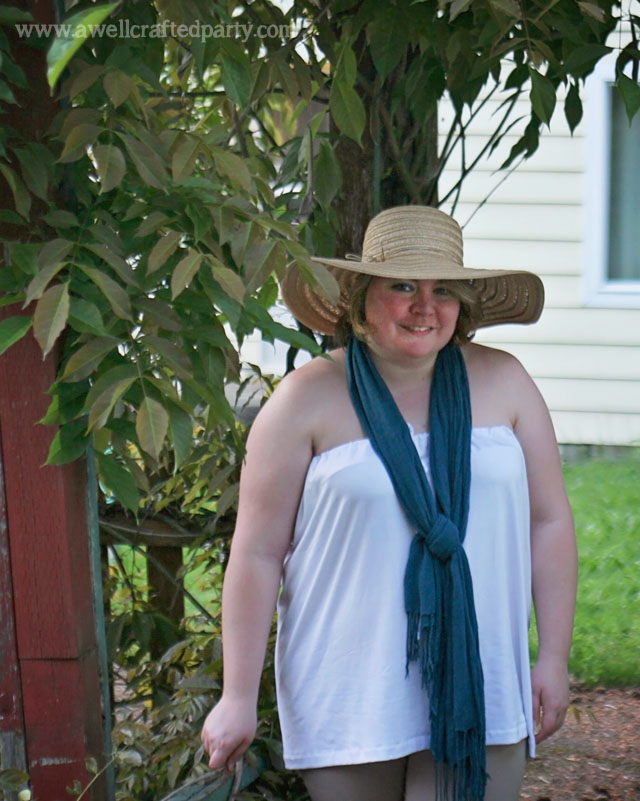 Styling Sun Protective Clothing // A Well Crafted Party