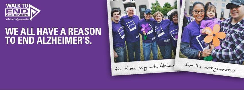 Walk to End Alzheimer's – Portland Walk September 7th!