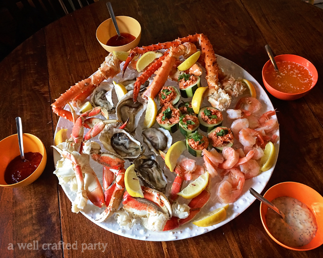 Fruits de Mer // A well Crafted Party