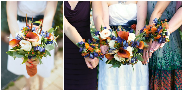 Fall wedding flowers - A Well Crafted Party