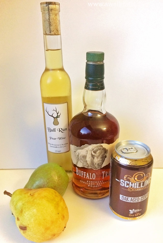 Saturday Spirits: Pear & Apple Cider Sangria