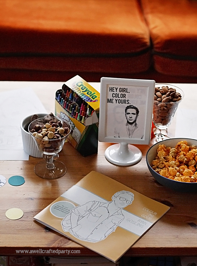 Hey Girl Party Activities: Color Me Yours