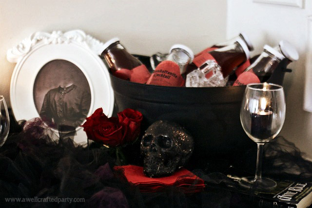Free Vampire Portraits from A Well Crafted Party