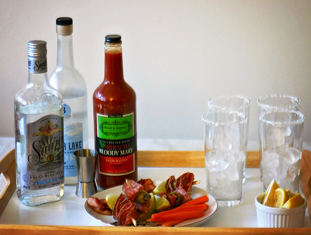 Easy Bloody Mary Bar for the Holidays // A Well Crafted Party