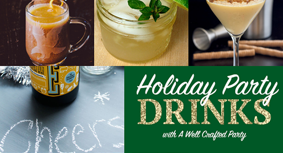 Holiday Drinks Round Up – Christmas & NYE Cocktails