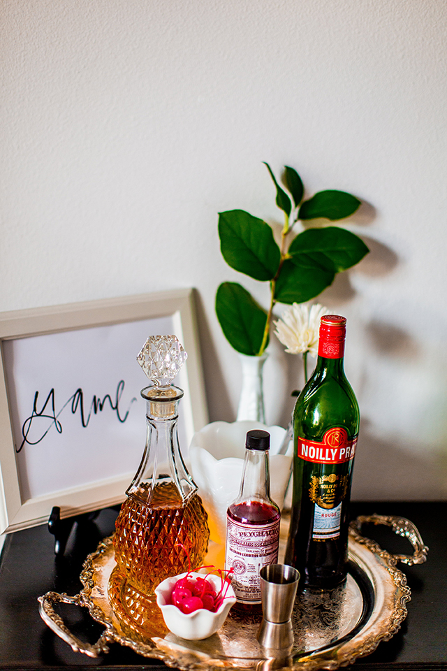 Classic Manhattan // A Well Crafted Party Photo via Mary Boyden View More: http://maryboyden.pass.us/newyearseveparty