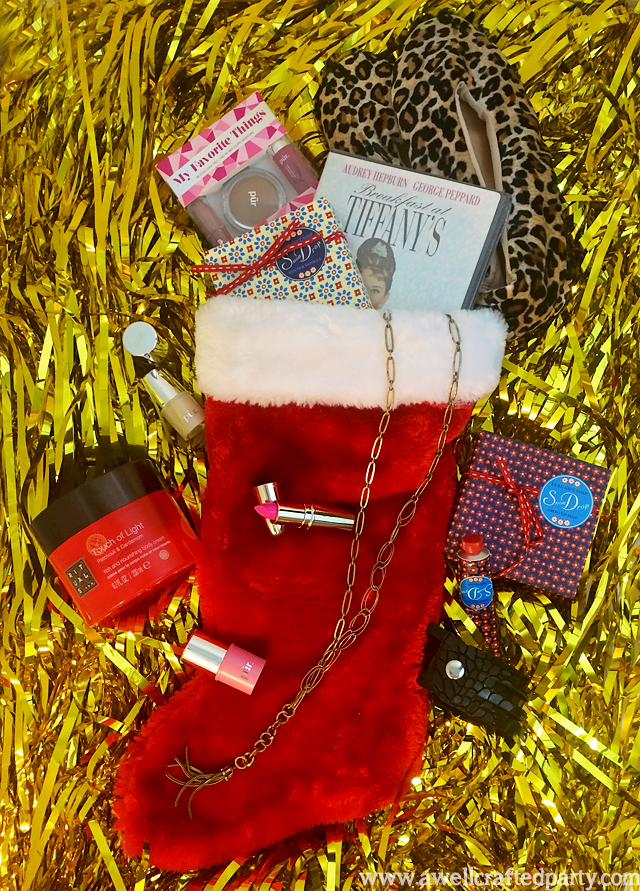 Beauty Themed Stocking Stuffer Ideas // A Well Crafted Party