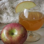 Salted Caramel Apple Hot Toddy