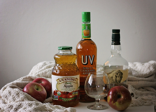 Salted Caramel Apple Hot Toddy // A Well Crafted Party