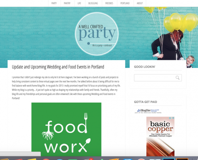 Evolution of Blog Design with A Well Crafted Party