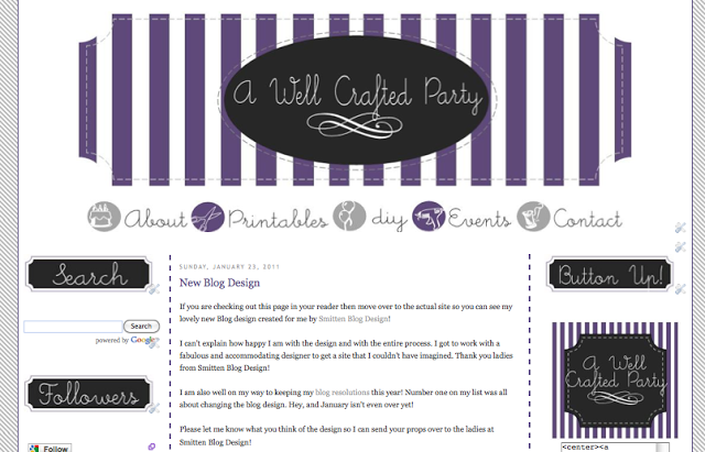 Evolution of Blog Design A Well Crafted Party