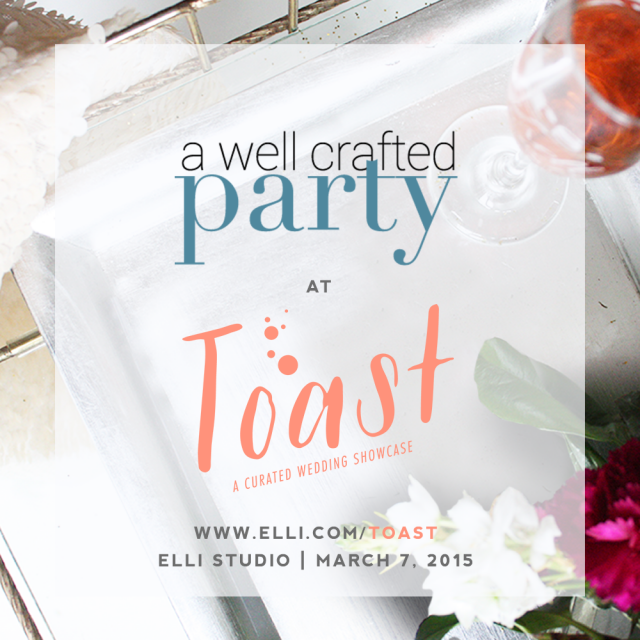 Portland Wedding Shows - Toast Curated Wedding Showcase // A Well Crafted Party Blog