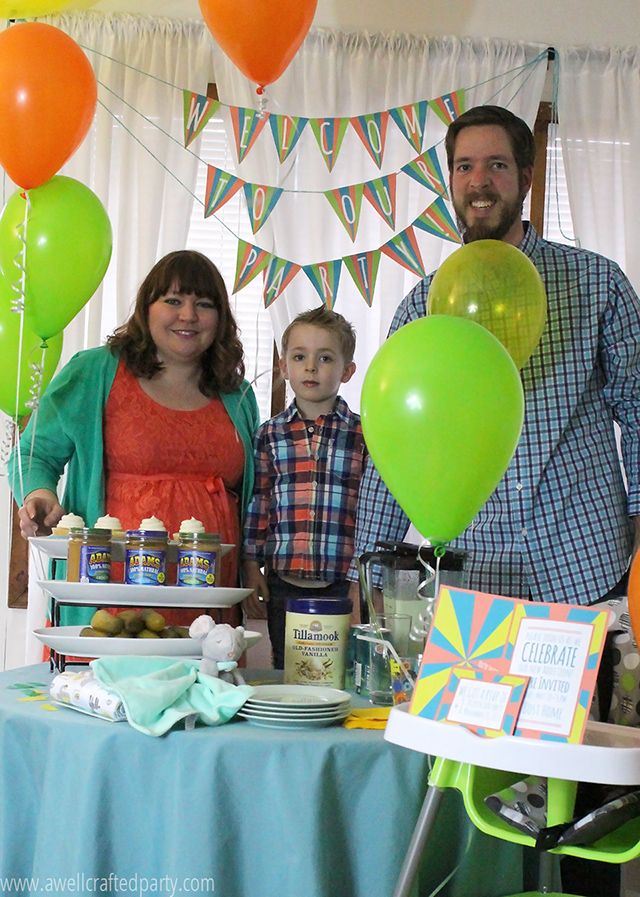 Our family is excited to welcome baby number two to this crazy party that is our life!