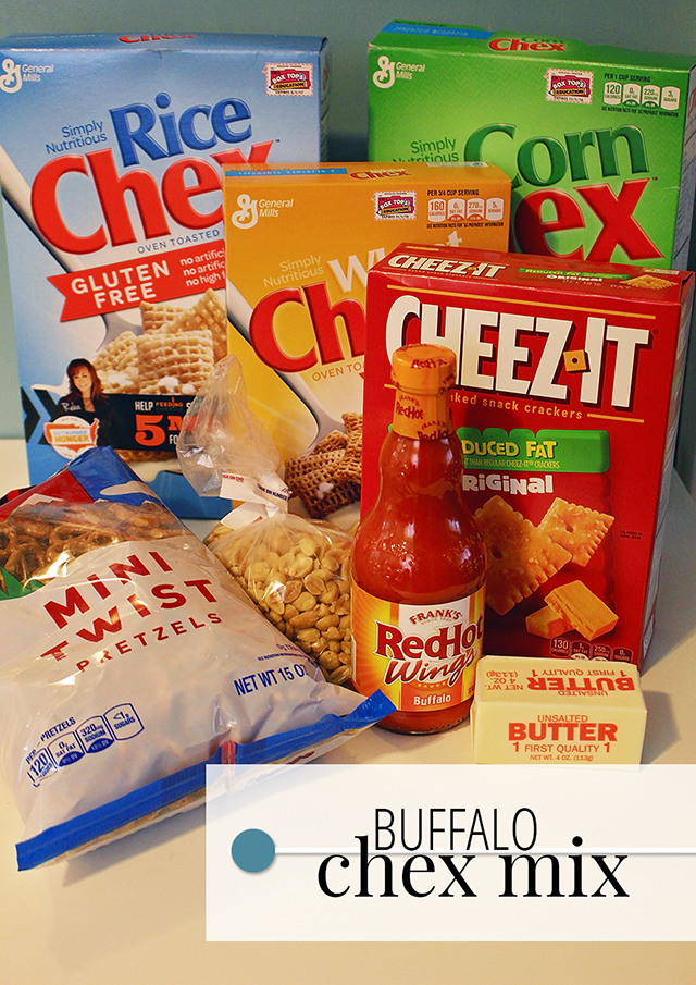 Buffalo Chex Party Mix + $50 Giftcard Giveaway