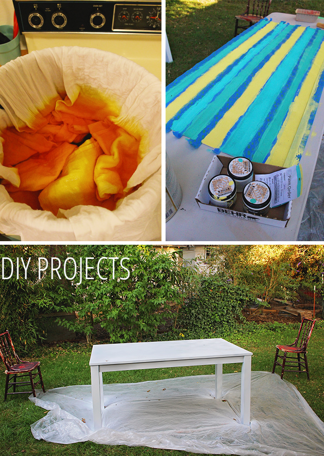 DIY Painted Table & Chairs— DIY Summer Porch Pt. 1