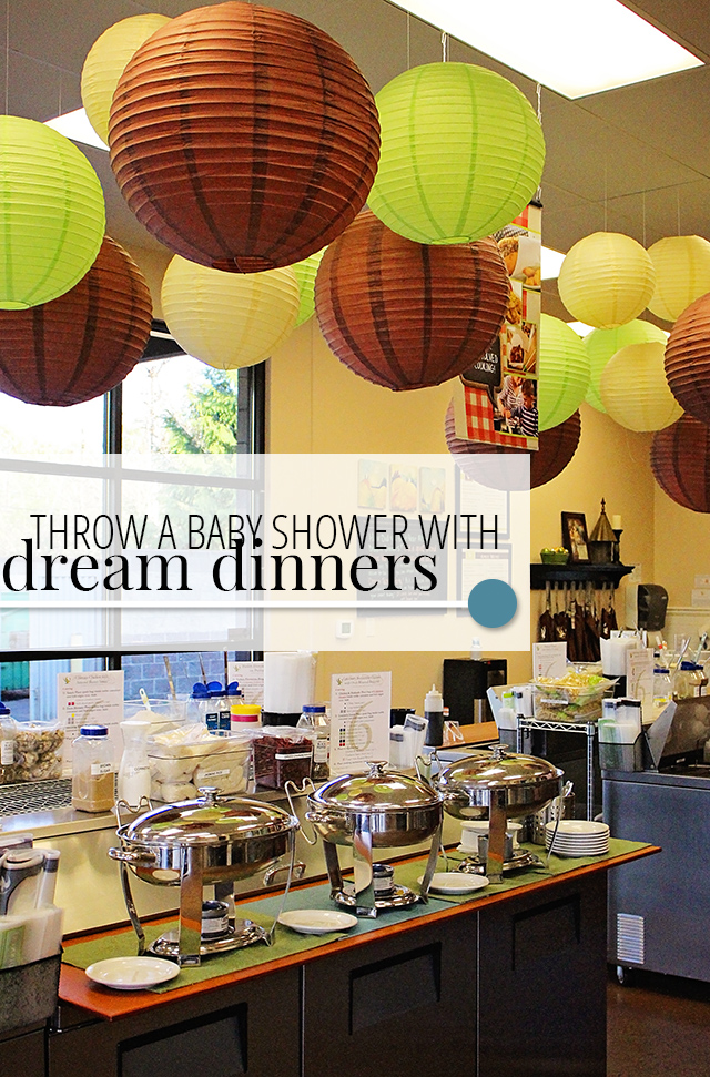 Throw a Baby Shower with Dream Dinners