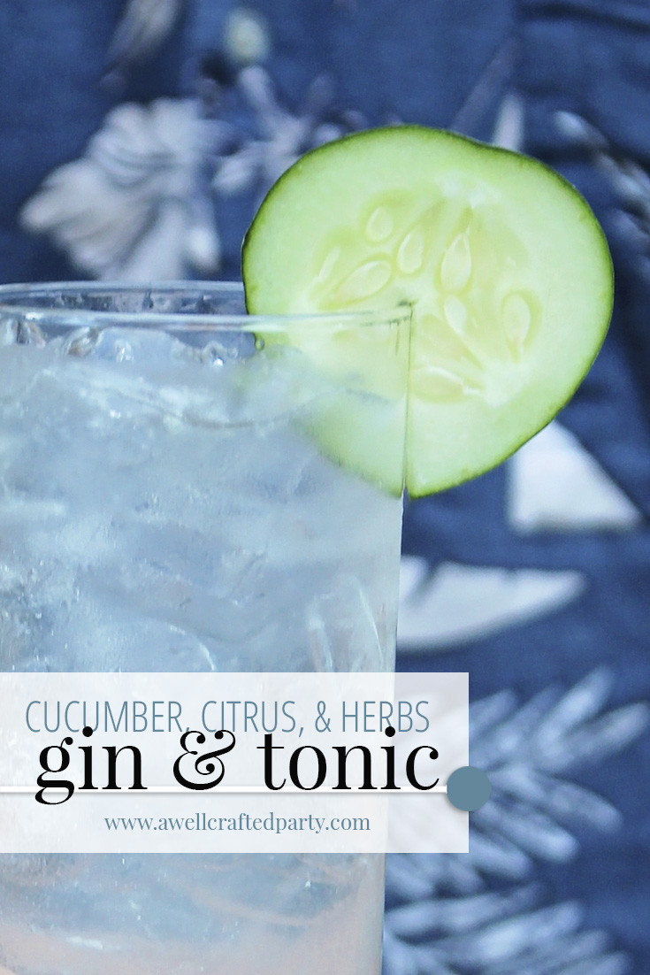 Saturday Spirits: Herbal Gin and Tonic