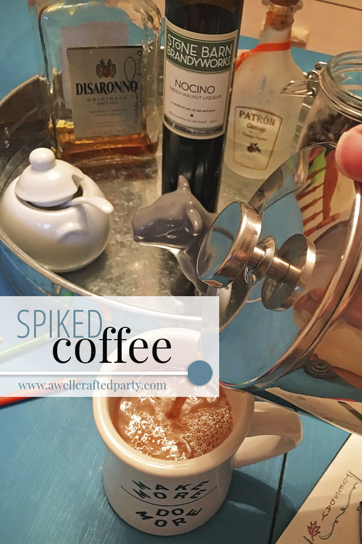 Saturday Spirits: Spiked Coffee