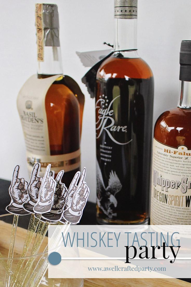 Saturday Spirits: Whiskey Tasting Party