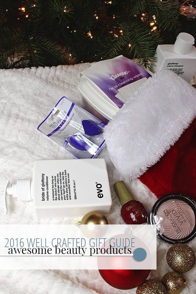 Stocking Stuffer Gift Guide 2016 – Beauty Products