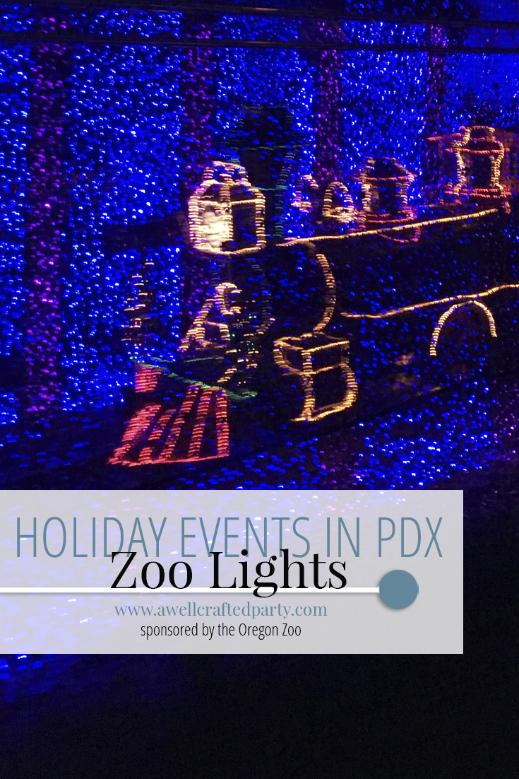 Holidays in Portland: Zoo Lights + A Giveaway!